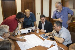 Semae E CORSAN Se Preparam Para Iniciar Obras De Fornecimento De água à Penitenciária Estadual De Sapucaia